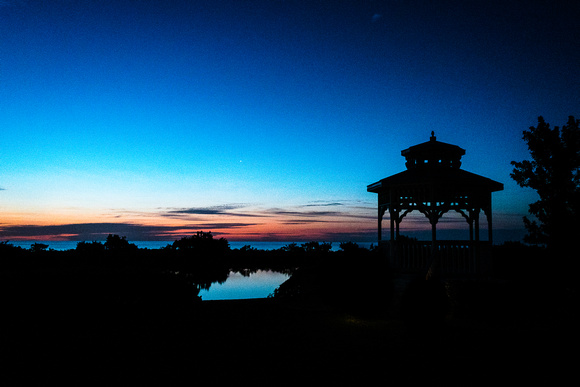 The Gazebo, Sunrise, Hawk's Key