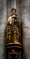 Figure, Cologne Cathedral, Cologne, Germany